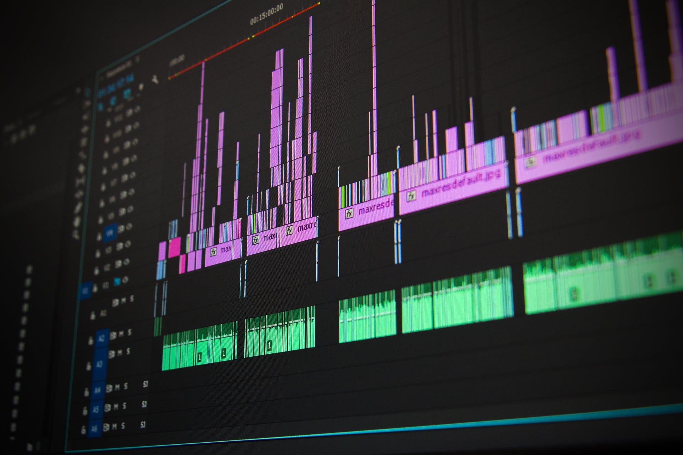 動画を作るために必要なもの2 動画編集ソフト