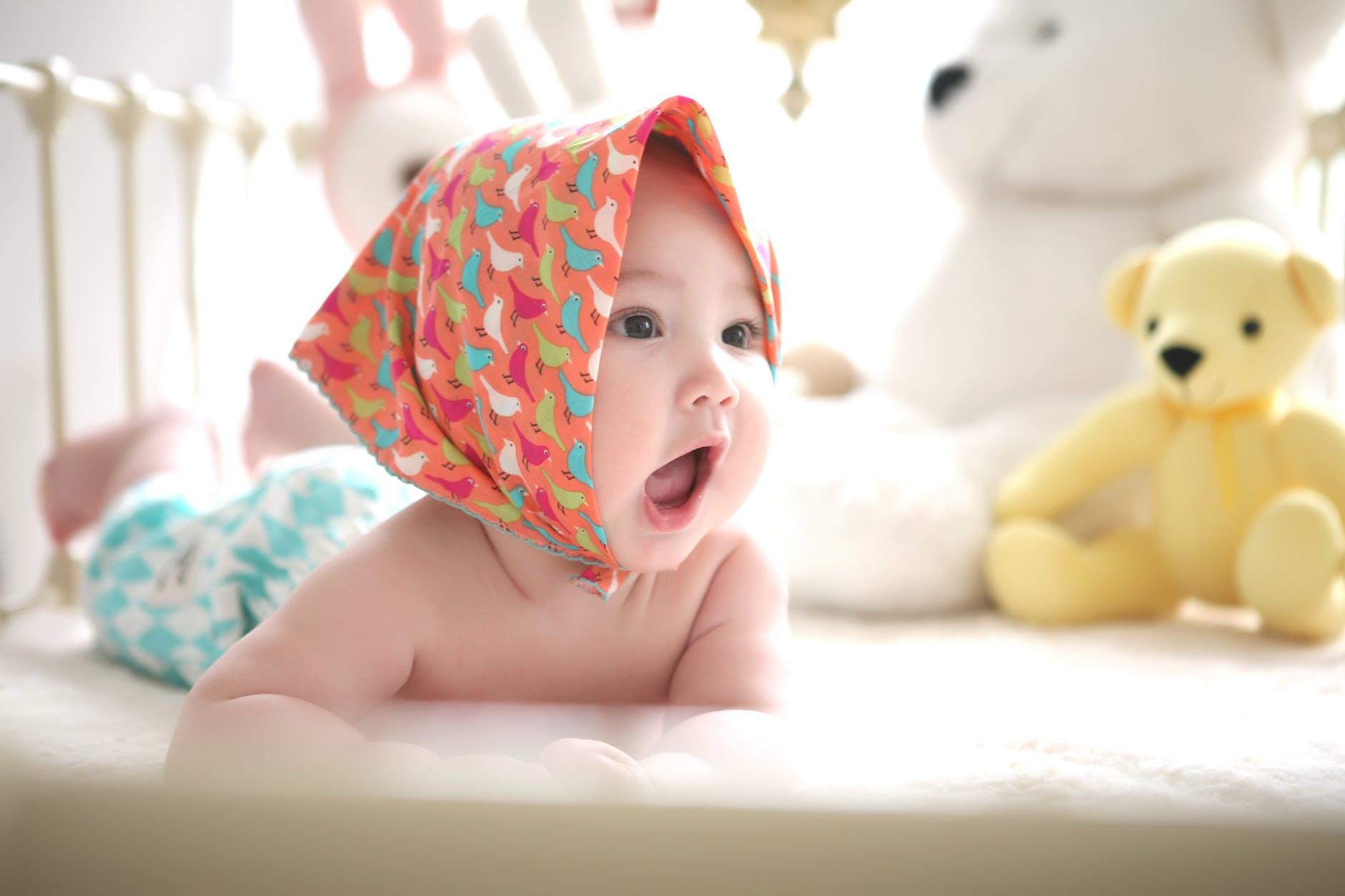 赤ちゃんはかわいいよね