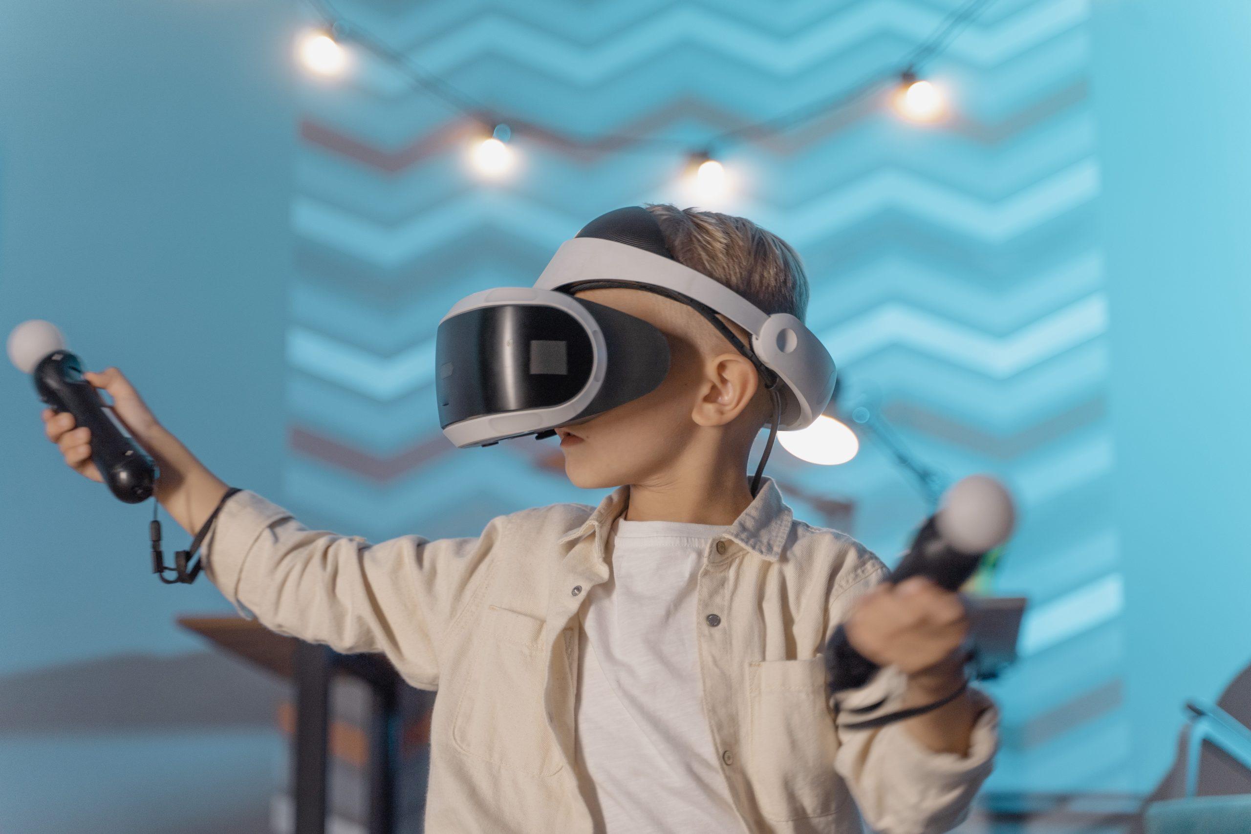 VRは映像を楽しめるだけではない